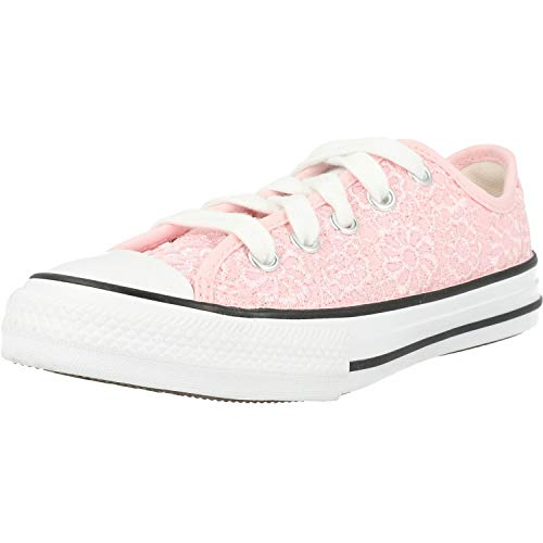 Converse Chuck Taylor All Star Daisy Crochet Sneaker Kind Rose - 33 - Sneaker Low Shoes