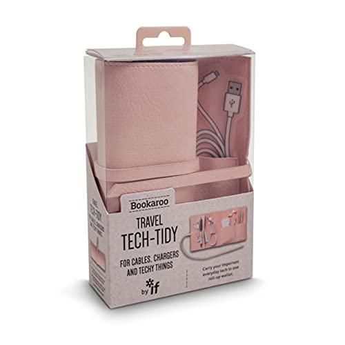 Bookaroo Travel Tech-Tidy - Pink