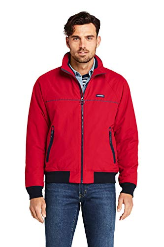 Lands' End Men's Classic Squall Jacket Medium Classic Cherry