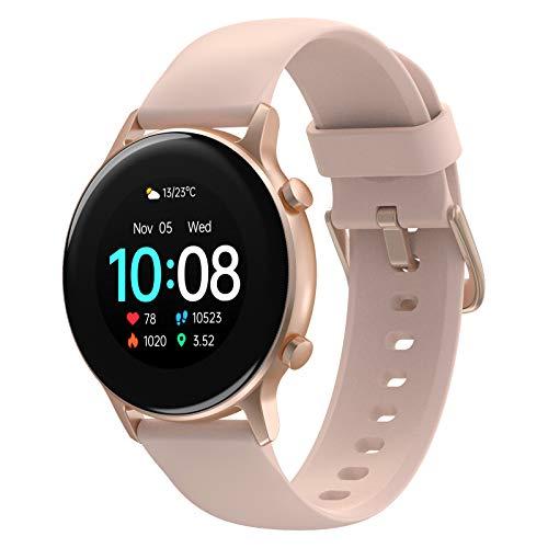 UMIDIGI Urun S Smart Watch, 1,3 Zoll Touchscreen Fitnessuhr, Fitness Tracker mit Blutsauerstoffmonitor, Pulsmesser, Schlafmonitor, 5 ATM wasserdichte Smartwatch für Herren Damen für Android iOS