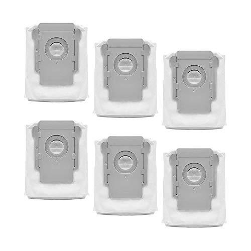 Rediboom 6 Stück Ersatz-Staubsaugerbeutel für iRobot Roomba i7 i7+/i7 Plus E5 E6 E7 S9 Staubsaugerbeutel, Clean Base Automatische Absaugstaion Beutel Filterbeutel