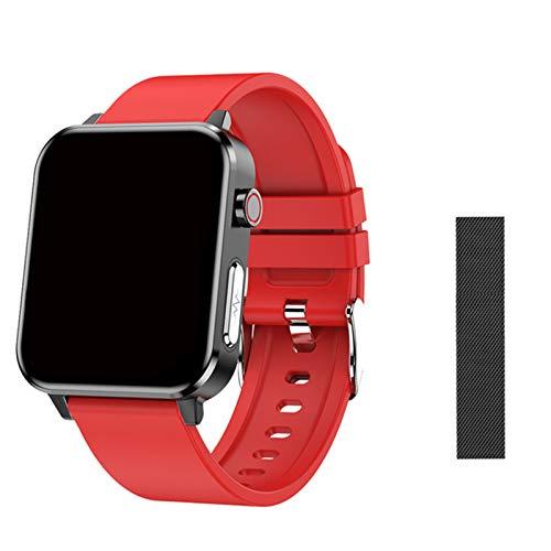ZGLXZ Smart Watch, Activity Tracker, Fitness Trackers con Monitor De Frecuencia Cardíaca, Sport Smartwatch Compatible con Android iOS Smart Phone para Hombres Mujeres,J
