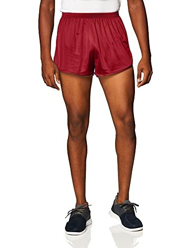 Soffe Men's Ranger Panty Running Short,Garnet,XX-Large