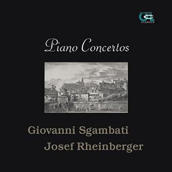 Giovanni Sgambati & Josef Rheinberger: Piano Concertos