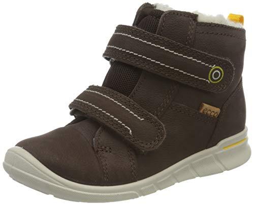 ECCO Jungen Kavalan First Walker Shoe, Braun (Mocha), 24 EU