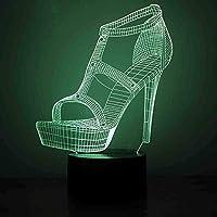 giyiohokフェスティバル3DイリュージョンナイトライトダラーサインLedデスクテーブルランプおもちゃギフト男の子女の子カラータッチランプアート彫刻ライト誕生日プレゼント子供寝室の装飾-Mq3512-n15-n6