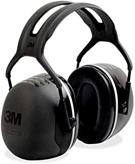 X5A Peltor X-Series Over-The-Head X5 Earmuffs - Foam, Steel Liner - 1/ Each - Black