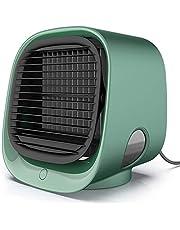 FABSELLER Mini Luchtkoeler Draagbare Airconditioner Draagbare Koeler Ventilator USB Persoonlijke Ruimte Luchtkoeler voor Thuiskantoor Bureau