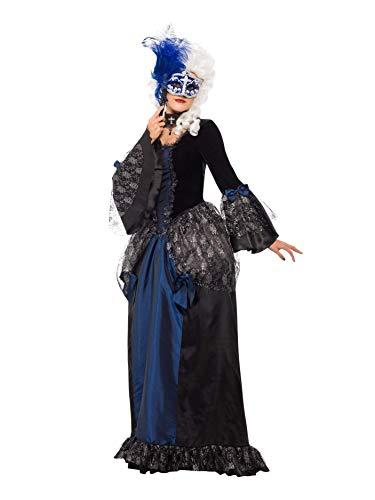 Smiffys Smiffys-25438S Disfraz de Baile de máscaras Barroco y con ...