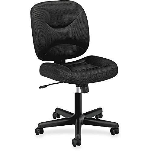 HON ValuTask Low Back Task Chair with doubly padded for maximum comfort when sewing for a long time