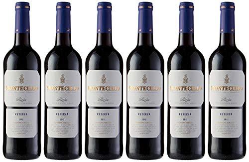 Vino tinto D.O. Rioja Montecillo Reserva - Caja de 6 unidades de vino Montecillo de 75cl