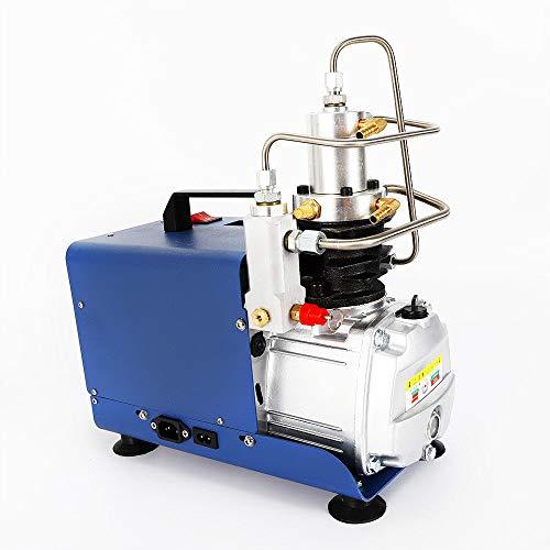 YIYIBY Hochdruckluftpumpe Elektrische 300BAR Automatischer Stopp 30MPA 4500PSI Luft Kompressor PCP für Automobil Tauchflasche Industrieflasche Luftgewehr Gewehr Inflator