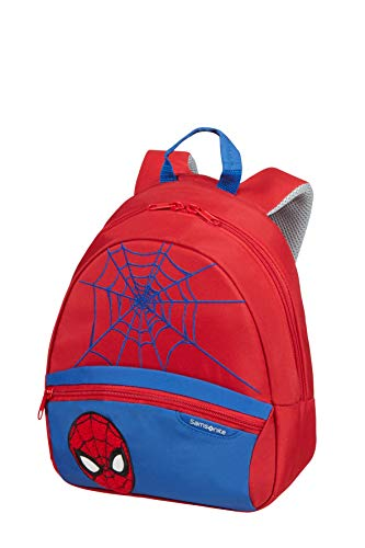 Samsonite Disney Ultimate 2.0 - Mochila Infantil S, 28.5 cm, 7 L, Rojo (Spider-Man)