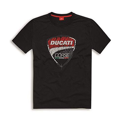 Ducati Corse Camiseta Sketch Negro - Negro, XL