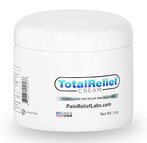 Best Pain Relief Cream 6oz Large - Arnica Topical Analgesic for Lower and High Back   Knee   Hip   Neck   Foot   Sciatica   Joint   Nerve   Muscle Aches   Arthritis   Fibromyalgia   Anti Inflammatory
