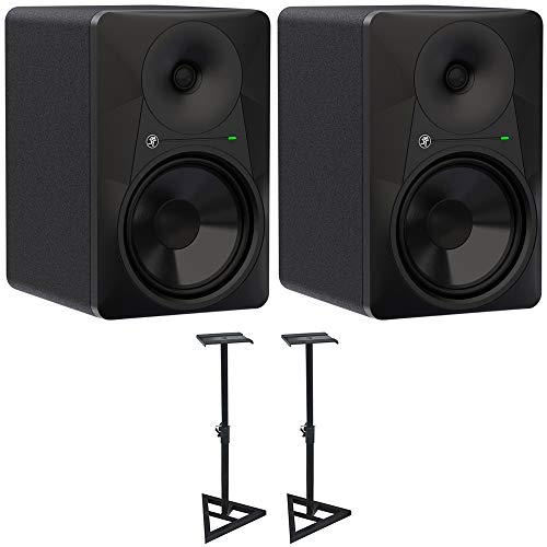 Fantastic Deal! Mackie MR824 MR-Series 8 Powered Studio Monitor (2-Pack) with Deco Mount Pair of PA...