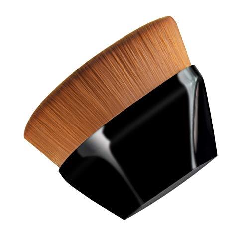 safety Makeup brush kabuki travel foundation flat Luxury loose pow top