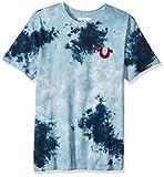 True Religion Men's Buddha Logo Short Sleeve Tee, Ocean Waves, XXL