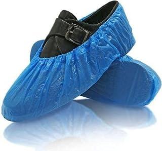 SAFEFOX Plastic Disposable Shoe Cover (100)
