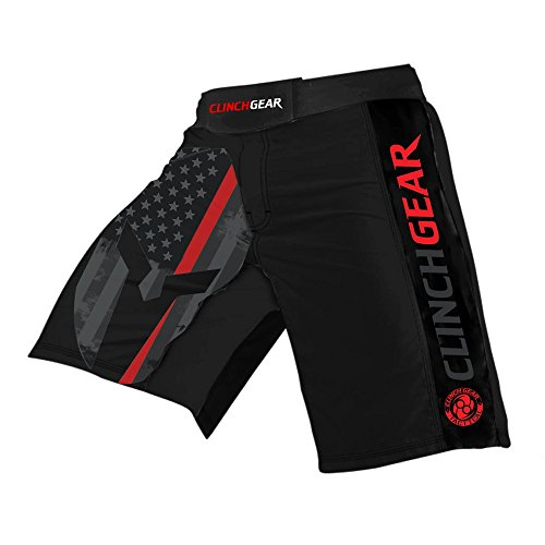 Clinch Gear Performance MMA Shorts, Crossfit Shorts - Premium Pro Fight Shorts