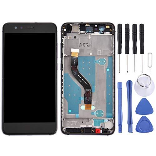 ZHUHAI Vervangende Display Touch Screen Reparatie Voor Huawei P10 Lite/Nova Lite LCD-scherm en Digitizer Volledige montage met Frame(Black) Screen Assembly Kits + Hele set Vervangende Gereedschappen, Zwart