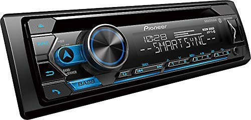 Pioneer Black CD Receiver with Built-in Bluetooth