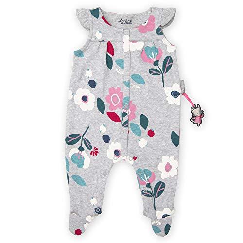 Sigikid Baby-Mädchen Strampler Bekleidungsset, Grau (Grau 81), (Herstellergröße: 92)