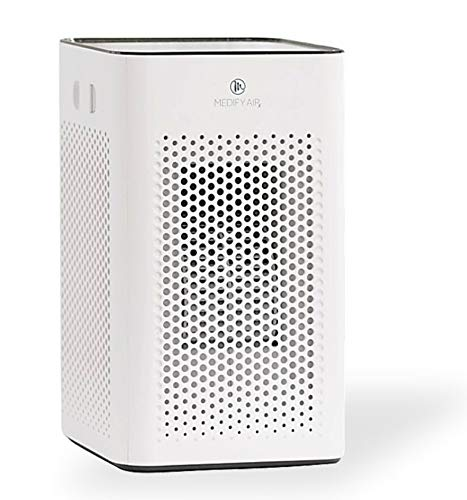 Medify MA-25 W1 Medical Grade Filtration H13 True HEPA for 500 Sq. Ft. Air Purifier | Dual Air Intake | Two '3-in-1' Filters | 99.97% Removal in a Modern Design - White