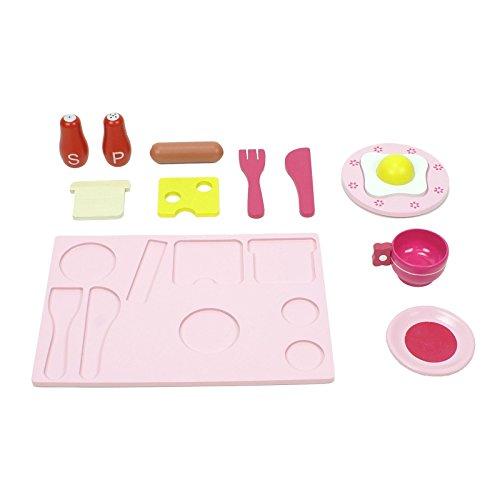 boppi® Küchenspielzeug aus Holz mit Zubehör 19-teilig - 7