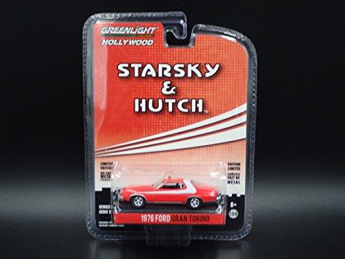 Starsky e Hutch Modello Diecast 8cm Ford Gran Torino 1976 - Scala 1:64 Greenlight Collectibles