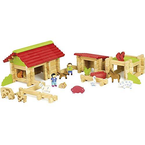 JeuJura jeujuraj8234 houten boerderij in box (, gemarmerd, SB)