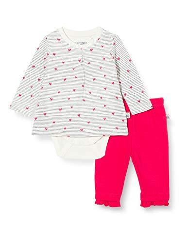 Blue Seven Baby Newborn Mädchen 2er Set: Bodyshirt und Hose Shorts, 010 Offwhite Orig, 6-9 Months