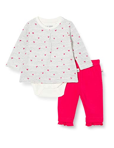 Blue Seven Baby Newborn Mädchen 2er Set: Bodyshirt und Hose Shorts, 010 Offwhite Orig, 3-6 Months