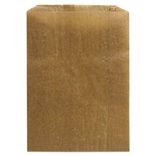 HOSPECO Napkin Receptacle Liner, Kraft Waxed Paper, 500/Carton