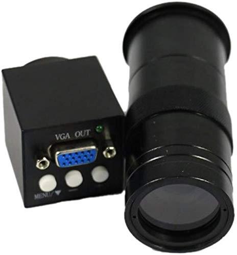 Jszzz 2017 Nuevo 2MP 1080P VGA Salidas Industria microscopio de la cámara C-100X Montura...