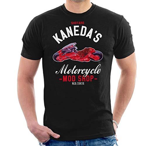 Cloud City 7 Academies Akira Shotaro Kanedas Motorcycle Shop Men's T-Shirt