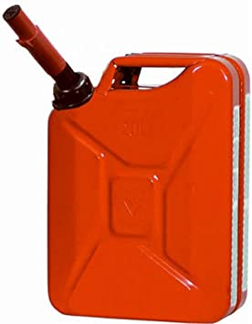 """Midwest 5 Gallon Metal """"Jerry"""" Gas Can: image"""