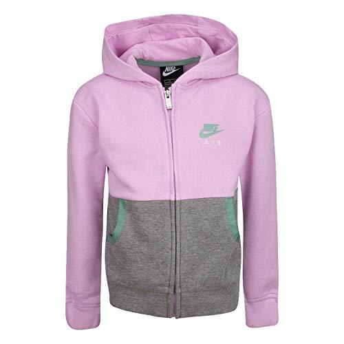 Nike Giacchetto con Cappuccio Bambina Rosa 36G715A54 Rosa 5-6 Anni