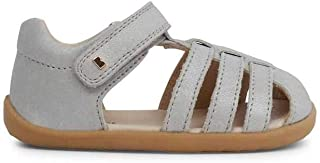Baby Girl's Step Up Jump Sandal (Infant/Toddler) Silver Shimmer 1 19 M EU