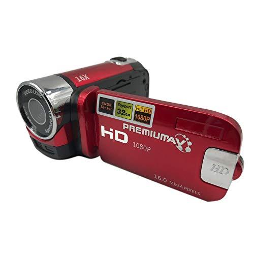 TFT-LCD-HD-camcorder van 2,7 inch met digitale videocamera en 16-voudige zoom en DV-camera.