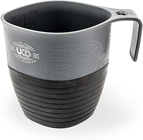 UCO Collapsible Cup for Hiking, Backpacking, and Camping, 12 Ounce, Venture