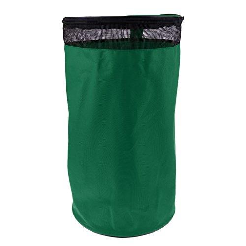 SM SunniMix Bolsa de Almacenamiento de Balón de Fútbol de 1 Unidad para Deportssita Multiusos - Verde oscuro, 50 cm/28 cm