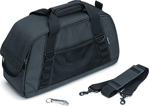 Kuryakyn 5202 Insulated Motorcycle Saddlebag Cooler Bag with Bottle Opener: Holds 18 Cans or 12 Bottles, Black, Pack of 1