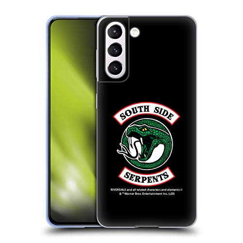 Head Case Designs Officially Licensed Riverdale South Side Serpents Graphics 2 Soft Gel Case Compatible with Samsung Galaxy S21 5G