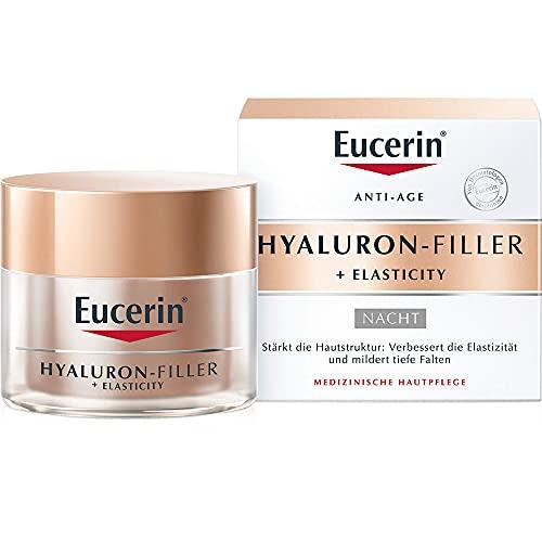 Eucerin Anti-Age Hyaluron-Filler Nachtpflege Creme, 50 ml Crema