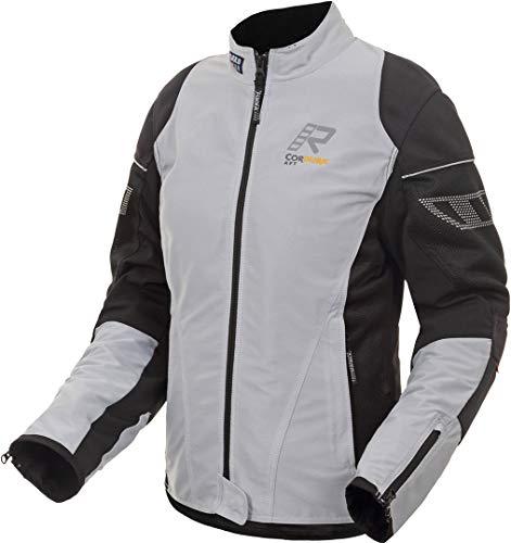 Rukka StretchAir Damen Motorrad Textiljacke Grau 44