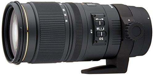 Sigma 70-200mm EX DG APO OS HSM - Objetivo para Canon (70-200mm, f/2.8, estabilizador óptico), Color Negro