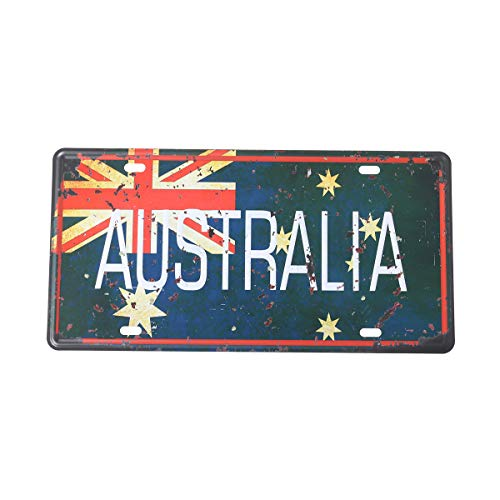Einfache Wahrheit Vintage Dekorative Zeichen Zinn Metall Eisen Auto Zeichen Malerei für Wand Home Bar Coffee Shop (AUSTRALIEN)