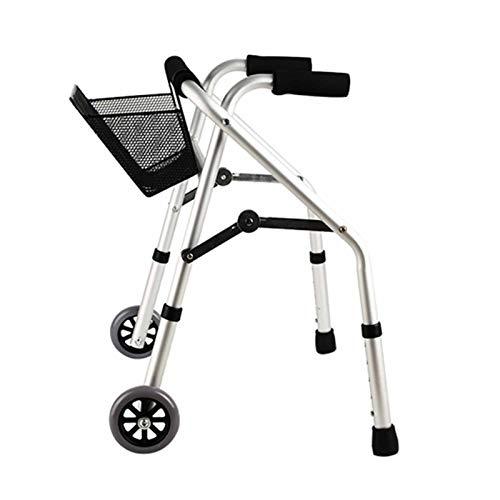 YUXINCAI Andador con Ruedas para Rehabilitación Infantil, Bastidor para Caminar, Equipo De Entrenamiento para Rehabilitación De Hemiplejía, Andador para Discapacitados, Andador con Ruedas