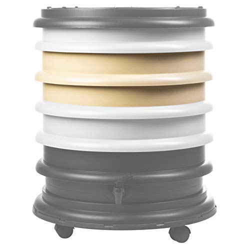 WormBox Zusatztablett Beige Wurmkomposter I Erhöhen Sie die Größe Ihres Wurmkomposters